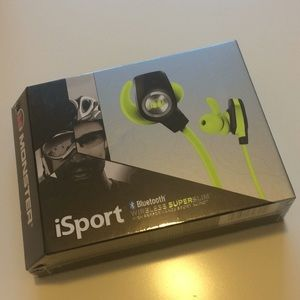 5d46a7a62fa Accessories | Nwt Monster Isport Bluetooth Workout Headphones | Poshmark
